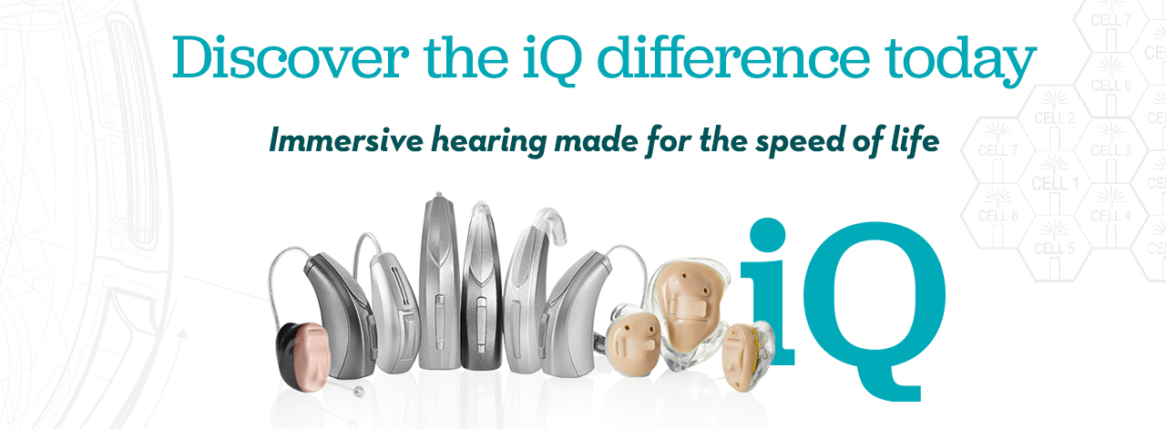 NuEar iQ Hearing Aids - Immerse yourself in every moment
